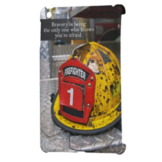 firefighter's Bravery quote case Case For The iPad Mini