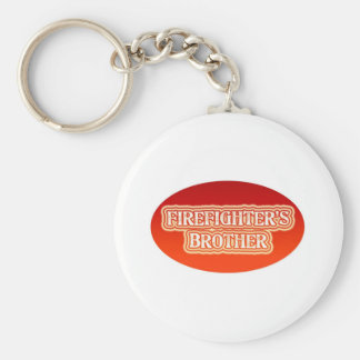 Firefighter's Brother Keychain