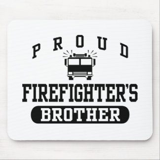 Firefighter's Brother Mousepads