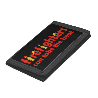 Firefighters Can Take the Heat Trifold Wallet