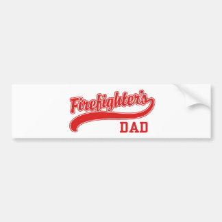 Firefighter's Dad Bumper Stickers