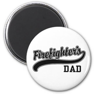 Firefighter's Dad Refrigerator Magnet