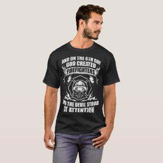 Firefighters Devil Fire T-Shirt