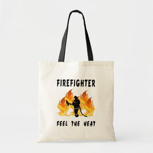 Firefighters Feel The Heat Budget Tote Bag
