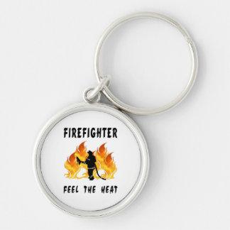 Firefighters Feel The Heat Keychain
