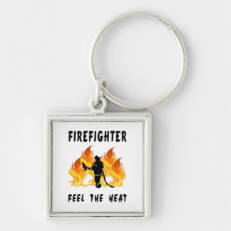 Firefighters Feel The Heat Key Chains