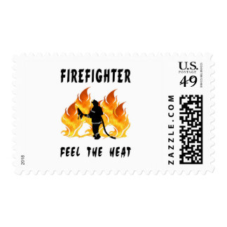 Firefighters Feel The Heat Stamps