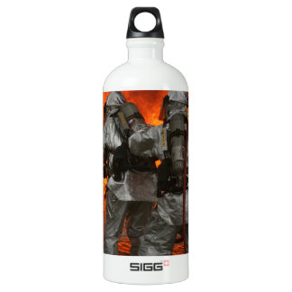 Firefighters fighting a fire SIGG traveler 1.0L water bottle
