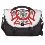 Firefighters Fire Dept logo Gifts Commuter Bag