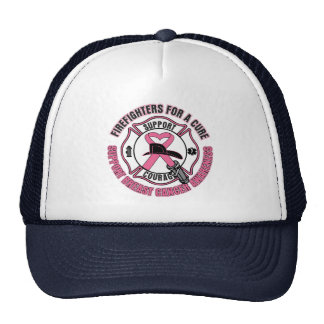 Firefighters For A Cure Breast Cancer Hat