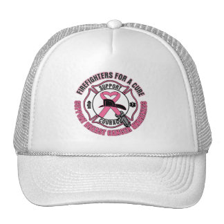 Firefighters For A Cure Breast Cancer Hats