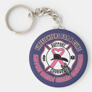 Firefighters For A Cure Breast Cancer Key Chains