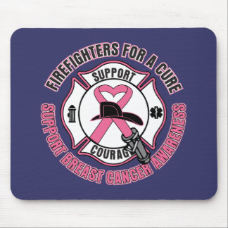 Firefighters For A Cure Breast Cancer Mouse Pads