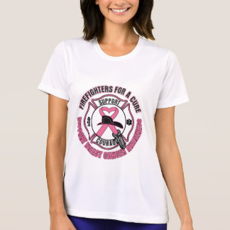 Firefighters For A Cure Breast Cancer Shirts
