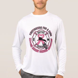 Firefighters For A Cure Breast Cancer T-shirts