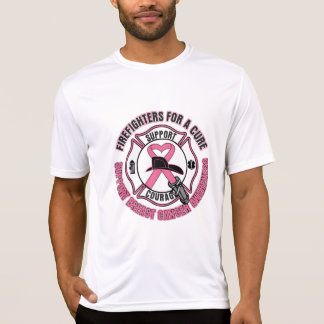 Firefighters For A Cure Breast Cancer Tshirt
