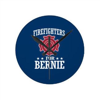 FIREFIGHTERS FOR BERNIE SANDERS ROUND CLOCK