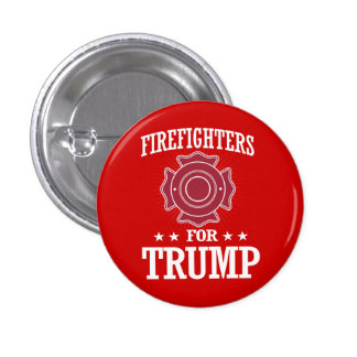 FIREFIGHTERS FOR TRUMP BUTTON