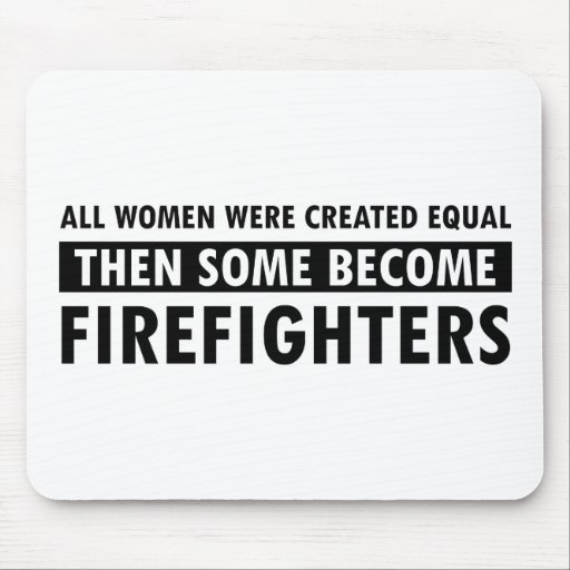 Firefighters gift items mousepad
