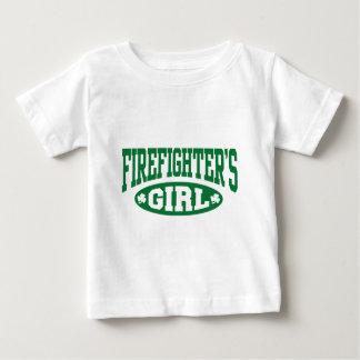Firefighter's Girl Baby T-Shirt