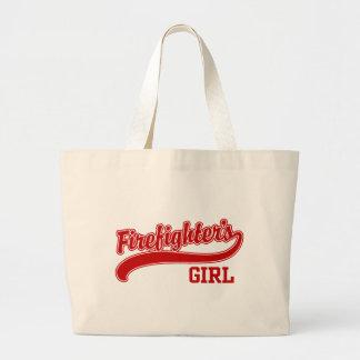 Firefighter's Girl Jumbo Tote Bag