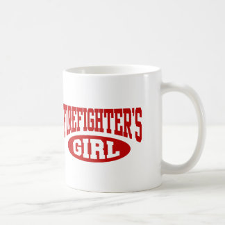 Firefighter's Girl Coffee Mug