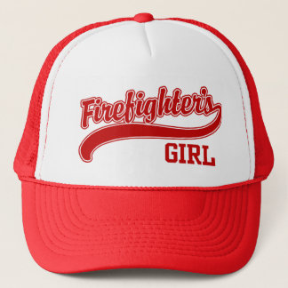 Firefighter's Girl Trucker Hat