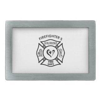 Firefighters Girlfriend Belt Buckles