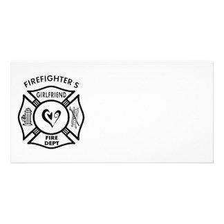 Firefighter's Girlfriend Card