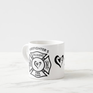 Firefighter's Girlfriend Espresso Cup