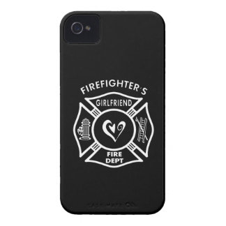 Firefighter's Girlfriend iPhone 4 Cover