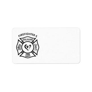 Firefighter's Girlfriend Label