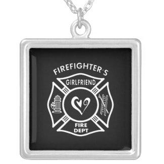 Firefighter's Girlfriend Pendants