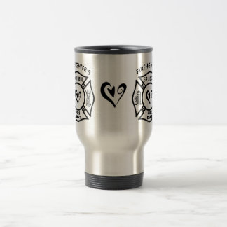 Firefighters Girlfriend Travel Mug