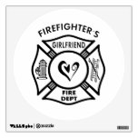 Firefighters Girlfriends Wall Skin