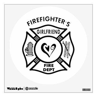 Firefighters Girlfriends Wall Sticker
