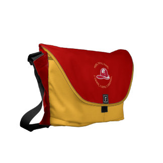 Firefighter's Helmut Courier Bags