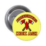 FIREFIGHTERS KICK ASH BUTTON