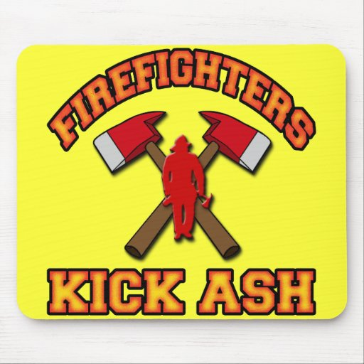 FIREFIGHTERS KICK ASH MOUSE PADS