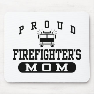 Firefighter's Mom Mousepad