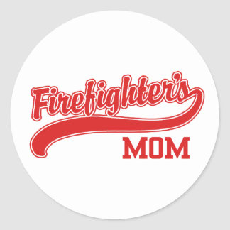 Firefighter's Mom Stickers