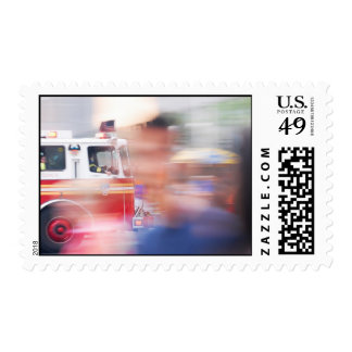 Firefighters New York Postage Stamps