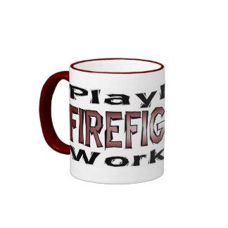 Firefighters - Play Hard/Work Hard Mug