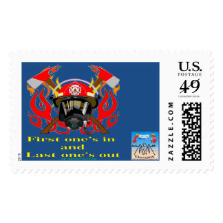 Firefighters Postage