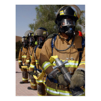 Firefighters Postcard