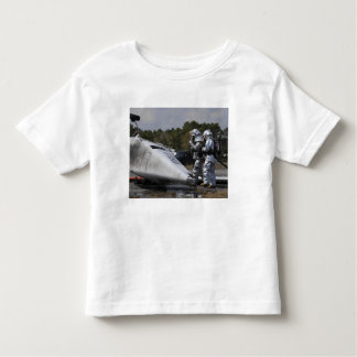 Firefighters respond to the scene toddler t-shirt
