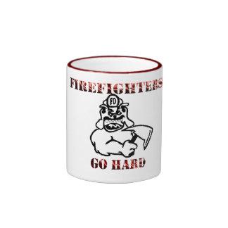 Firefighters Ringer Mug