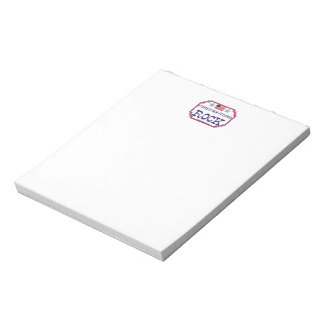 Firefighters Rock Notepad