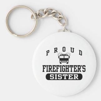 Firefighter's Sister Keychain