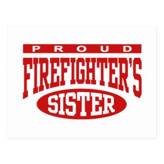 Firefighter's Sister Postcard